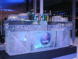 Corporate Logo Ice Bar