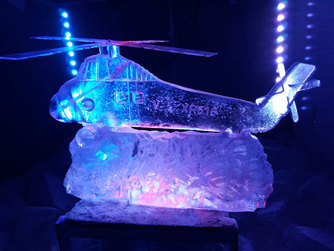 Wessex Helicopter Vodka |ce Luge