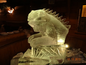Lizard Vodka Luge