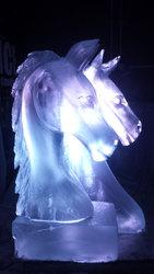 Horses Head Vodka Luge