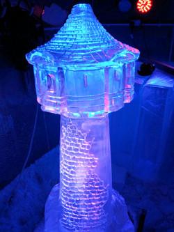 Rapunzels Tower Vodka Ice Luge