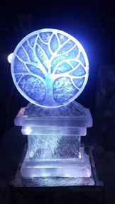 Logo Ice Sculpture