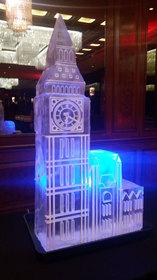 Big Ben Ice Sculpture Vodka luge