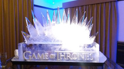 Game of Thrones Vodka Ice Luge