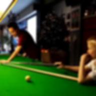 Snooker coach Kristof Vermeiren snookerschool.be