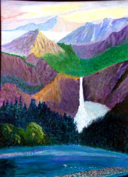 Colorful Falls