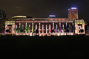 Spotlighting the Asian Art Museum with dazzling projection mapping