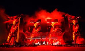 Robert Juliat Lancelot gives satisfaction to The Rolling Stones at new U Arena in Paris
