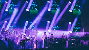 """Claypaky B-EYE K20s Deliver Pixel and Lens Effects for Bon Iver's """"22, A Million"""" Tour"""