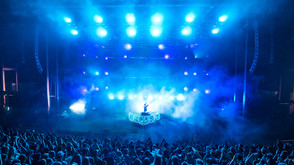 Flume Plays Red Rocks with Claypaky Fixtures