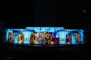 Glasses-free 3D projection show presents the 2,000-year history of the Maritime Silk Road