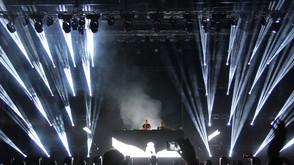 David Guetta shines with Claypaky at new Romanian dance festival