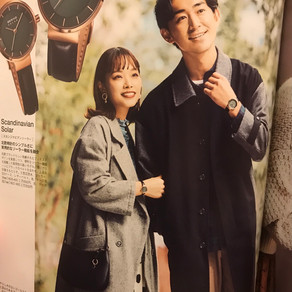雑誌掲載情報 〜 soutien collar coat 〜