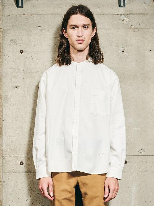 【先行予約】flannel stand collar sh