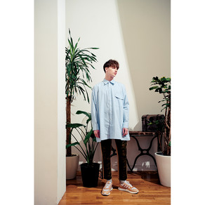scalar2021S/S LOOK check wide sh