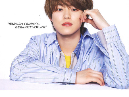 掲載情報〜wide stripe shirts〜
