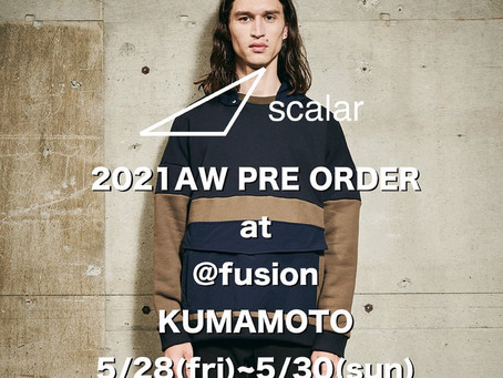 scalar 2021 A/W PREORDER @fusion.sun