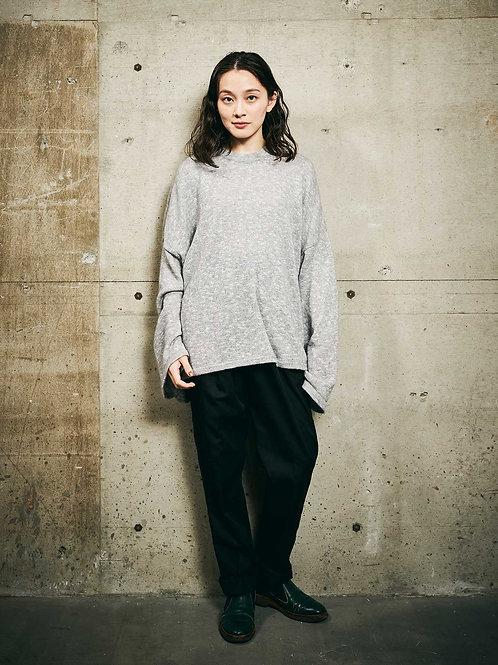 wide sleeve knit
