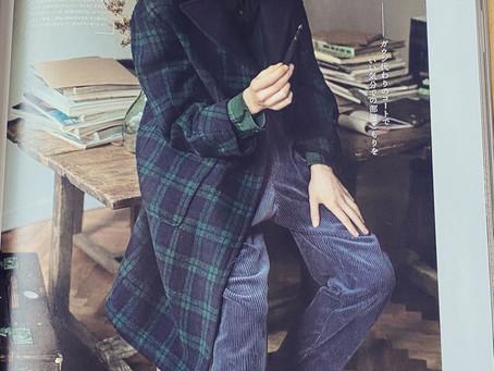 雑誌掲載情報〜check coat〜