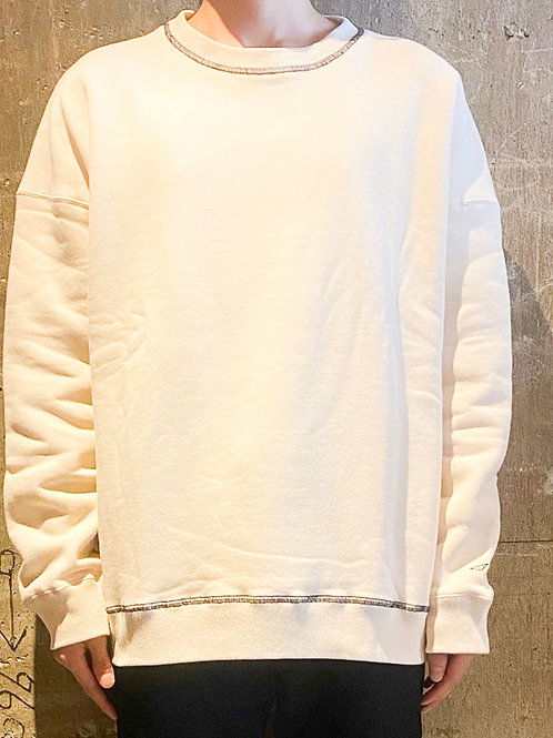 【先行予約】stitched sweat shirt