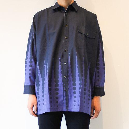 gradation dot shirts