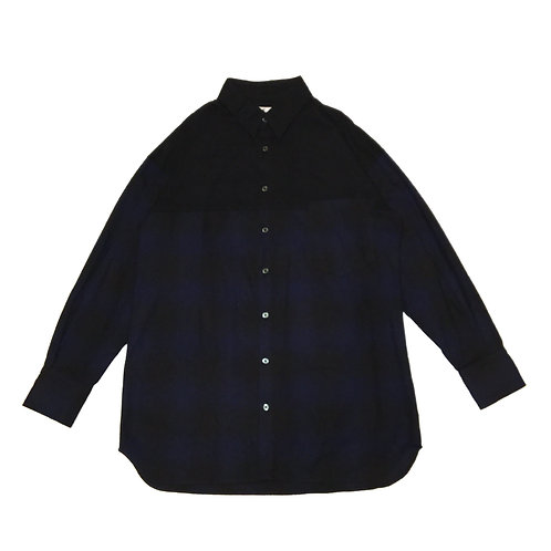flannel patch pocket shirt