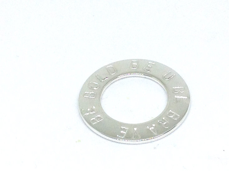 Sterling Silver Washer Charm