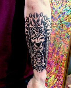Egyptian set tattoo
