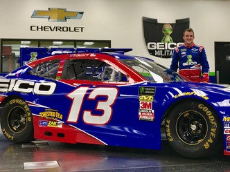 Germain Racing to Honor 10 Years of Partnership with GEICO in the Monster Energy NASCAR Cup Series a