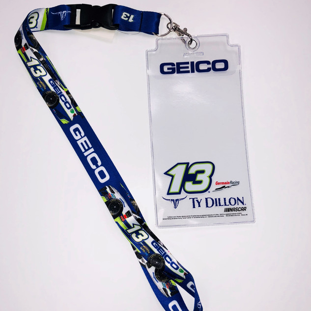 GEICO Racing Credential Holder