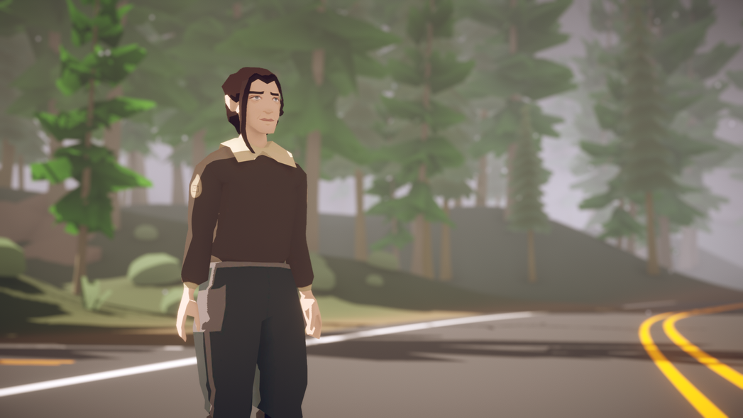 Lake - Main Character - Final Render