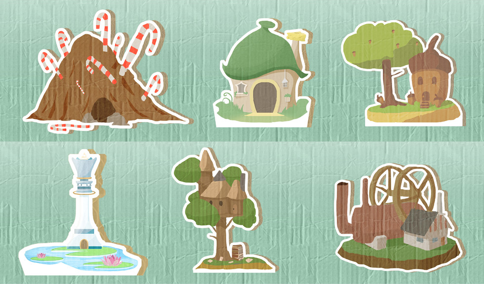 All Homes Of The Forest
