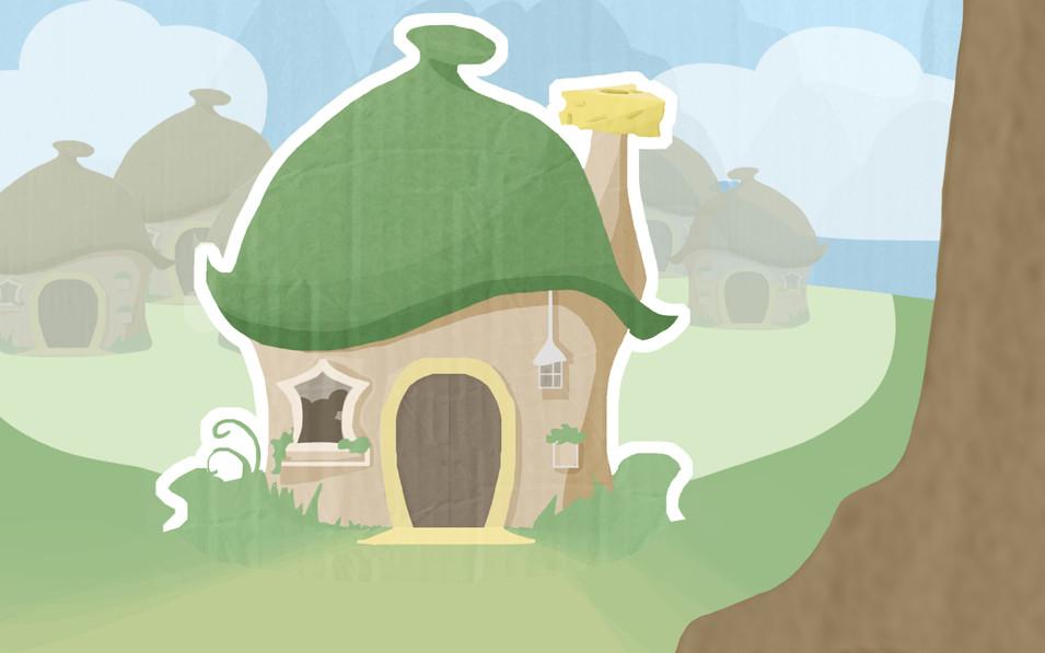 Cutscene Background 1 - Mice's Home