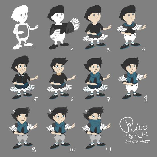 Concept Art - Riyo
