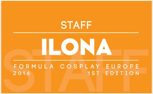 Fomula Cosplay Europe 1st Edition - Volunteers Badge