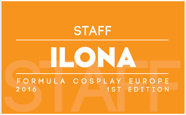 Fomula Cosplay Europe 1st Edition - Volunteers Badge