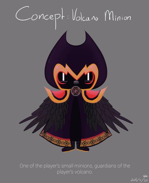 Concept Art Volcano Minion