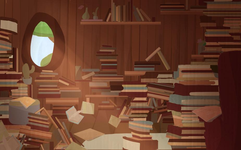 Cutscene Background 5 - Owl's Home