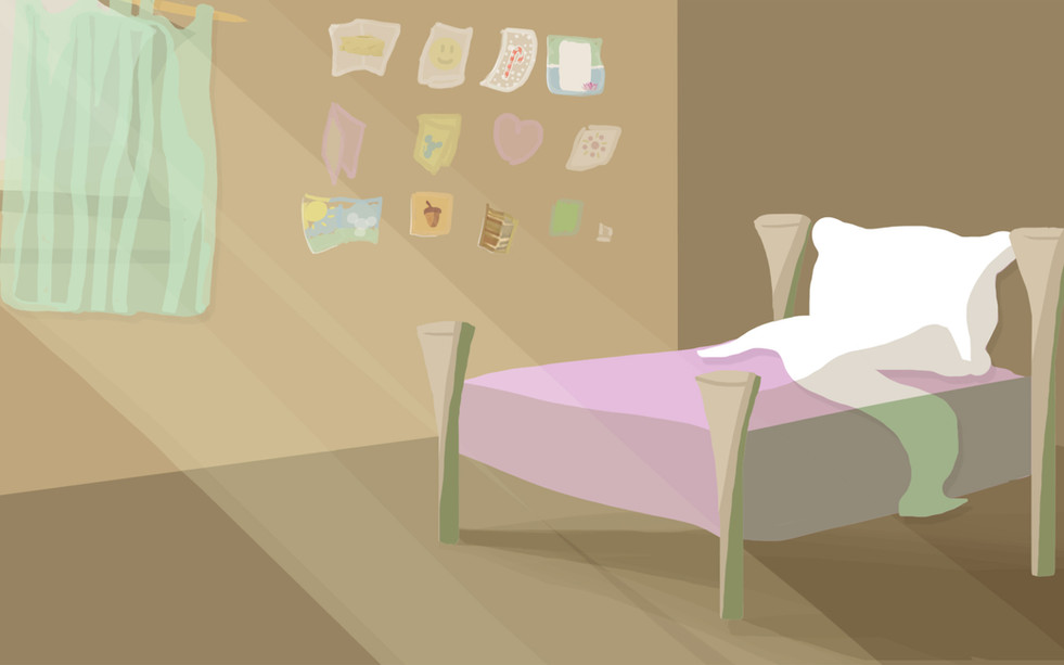 Cutscene Background 2 - Aunt's Bed