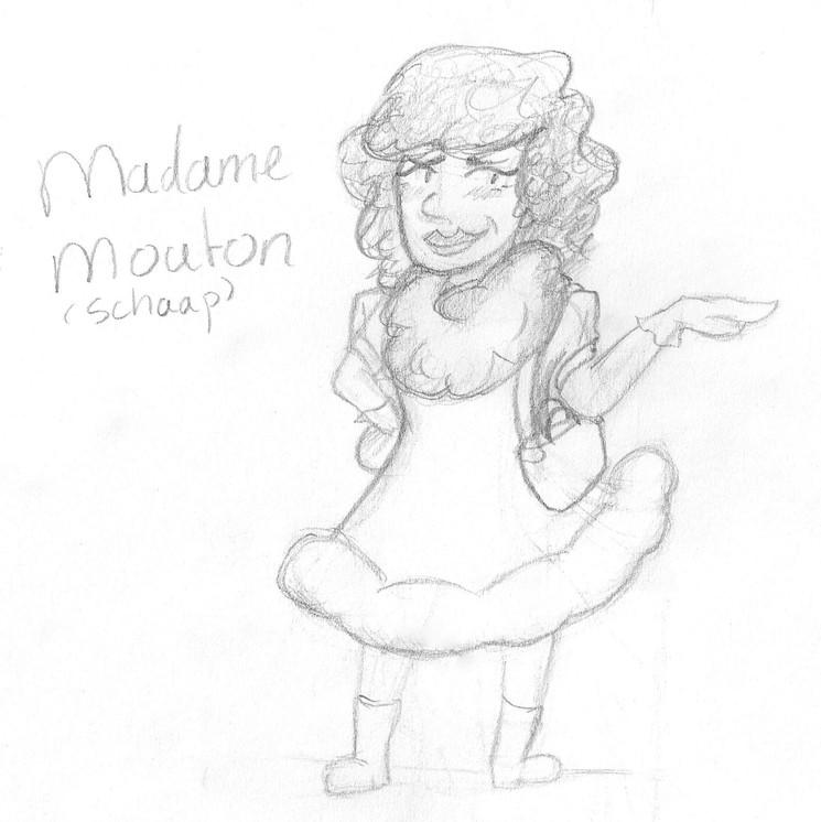 Concept Art - Madame Mouton