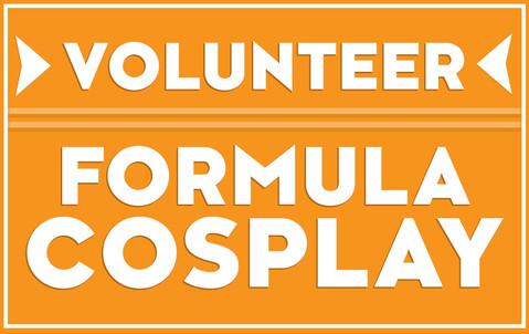 Fomula Cosplay Europe 2nd Edition - Volunteers Badge