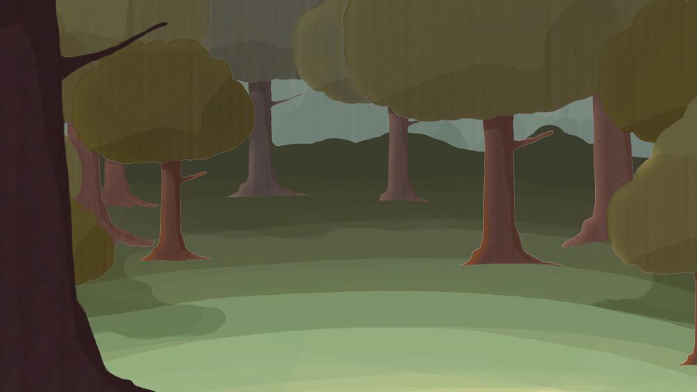 Cutscene Background 3 - Dark Forest