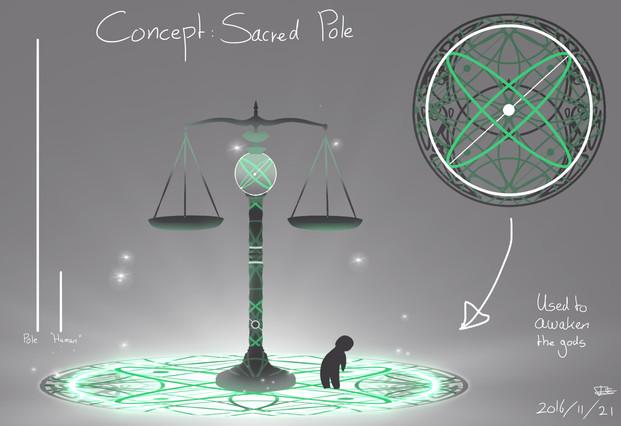 Concept Art Sacred Pole