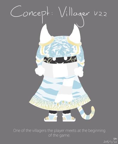 Concept Art Snow Villager