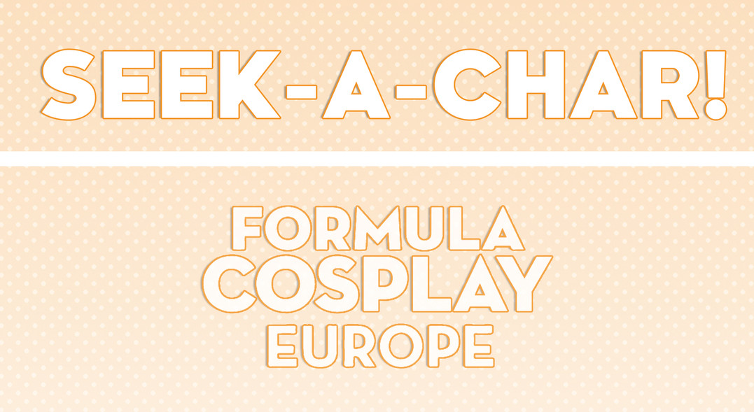 Fomula Cosplay Europe 1st Edition - Activity Promo Header