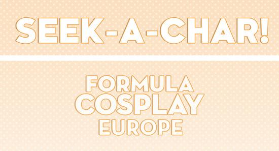 Fomula Cosplay Europe 1st Edition - Activity Promo Header
