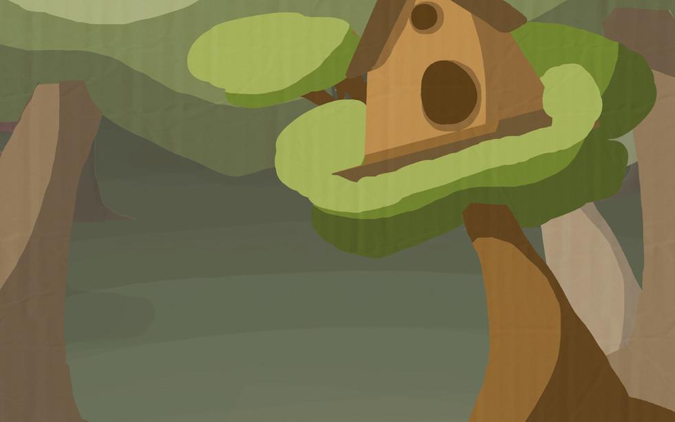 Cutscene Background 4 - Squirrels' Home