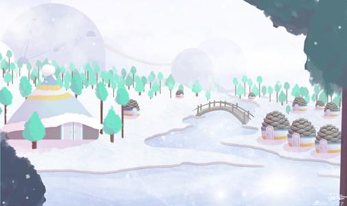 Concept Art Snow World