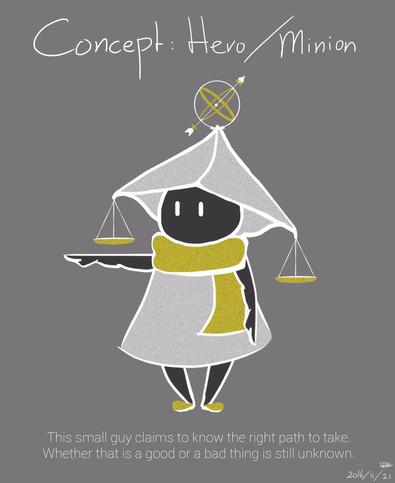 Early Concept Art Hero/Minion