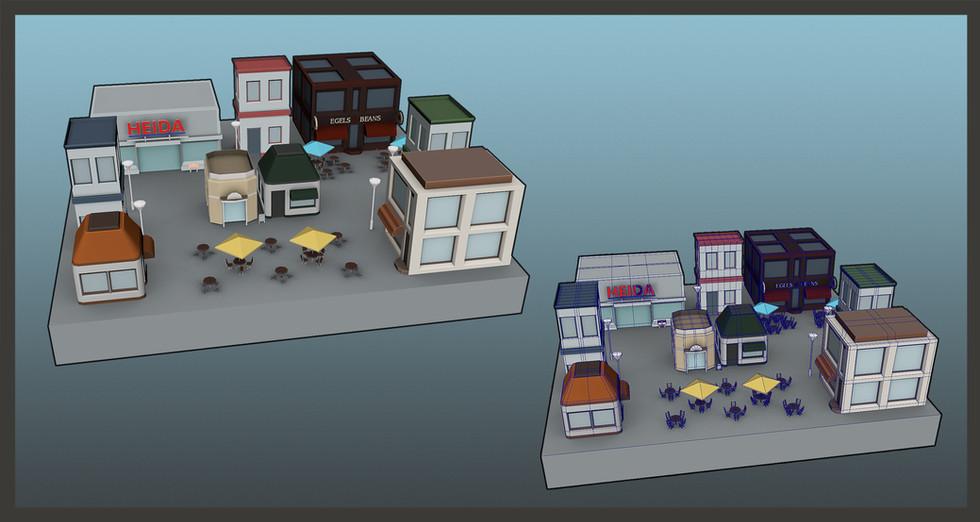 Gamework - 3D Render